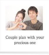 Couple plan with your precious one